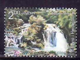 BOSNIA-HERZEGOVINA 293 SIN CHARNELA, TEMA EUROPA 1999, RESERVAS Y PARQUES NATURALES, NATURALEZA, (Sellos - Extranjero - Europa - Yugoslavia)