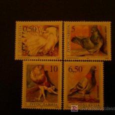 Sellos: YUGOSLAVIA 1990 IVERT 2294/7 *** FAUNA - PAJAROS. Lote 17693822