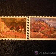 Sellos: YUGOSLAVIA 1977 IVERT 1573/4 *** EUROPA. Lote 34447011