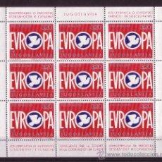 Sellos: YUGOSLAVIA MP 1506/07*** - AÑO 1975 - CONFERENCIA EN HELSINKI POR LA SEGURIDAD Y COOPERACIÓN EUROPEA. Lote 15536524