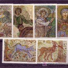 Sellos: YUGOSLAVIA.- YVERT 1263/68 MOSAICOS ANTIGUOS TOTALMENTE NUEVA . Lote 15119703