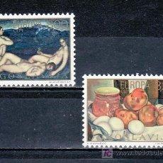 Sellos: YUGOSLAVIA 1479/80 SIN CHARNELA, TEMA EUROPA, PINTURA, . Lote 17694029