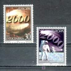 Sellos: YUGOSLAVIA 2822/3 SIN CHARNELA, TEMA EUROPA, ESPACIO, . Lote 17646795
