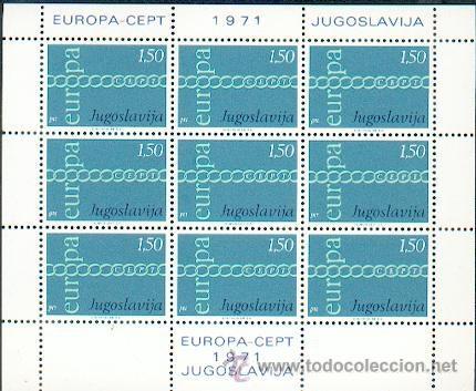 JUGOSLAVIA ** & EUROPA 1971 (2) (Sellos - Extranjero - Europa - Yugoslavia)