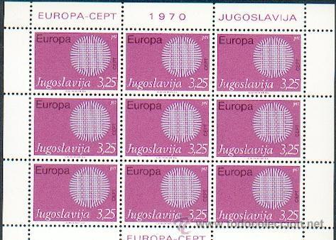 JUGOSLAVIA ** & EUROPA 1971 (4) (Sellos - Extranjero - Europa - Yugoslavia)