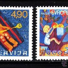 Sellos: YUGOSLAVIA 1583/84** - AÑO 1977 - ENCUENTRO INFANTIL EUROPEO - JUEGOS DE EUROPA. Lote 43193582