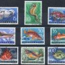 Sellos: YUGOSLAVIA AÑO 1956 YV 697/05ºº FAUNA MARINA - PECES. Lote 43586607