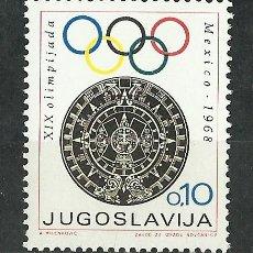 Sellos: YUGOSLAVIA - 1968 - SCOTT RA34** MNH. Lote 49287085