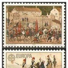 Sellos: YUGOSLAVIA YVERT NUM. 1769/70 ** SERIE COMPLETA SIN FIJASELLOS. Lote 183319991