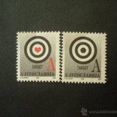 Sellos: YUGOSLAVIA 1999 IVERT 2762/3 *** SERIE BÁSICA - OBJETIVOS. Lote 53233395