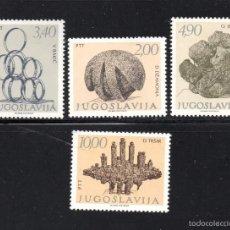 Sellos: YUGOSLAVIA 1631/34** - AÑO 1978 - ESCULTURA - OBRAS DE ESCULTORES YUGOSLAVOS. Lote 57200153