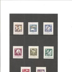 Sellos: YUGOSLAVIA. DEPORTES. JJ.OO. ROMA 1960**. Lote 64910347