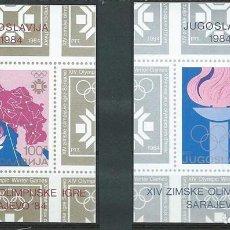 Sellos: 1984, JUEGOS DE INVIERNO DE SARAJEVO. Lote 69575962