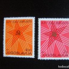 Sellos: YUGOSLAVIA. SERIE COMPLETA. NUEVA MNH**. YVERT Nº 1665/66. 1979.. Lote 69772849