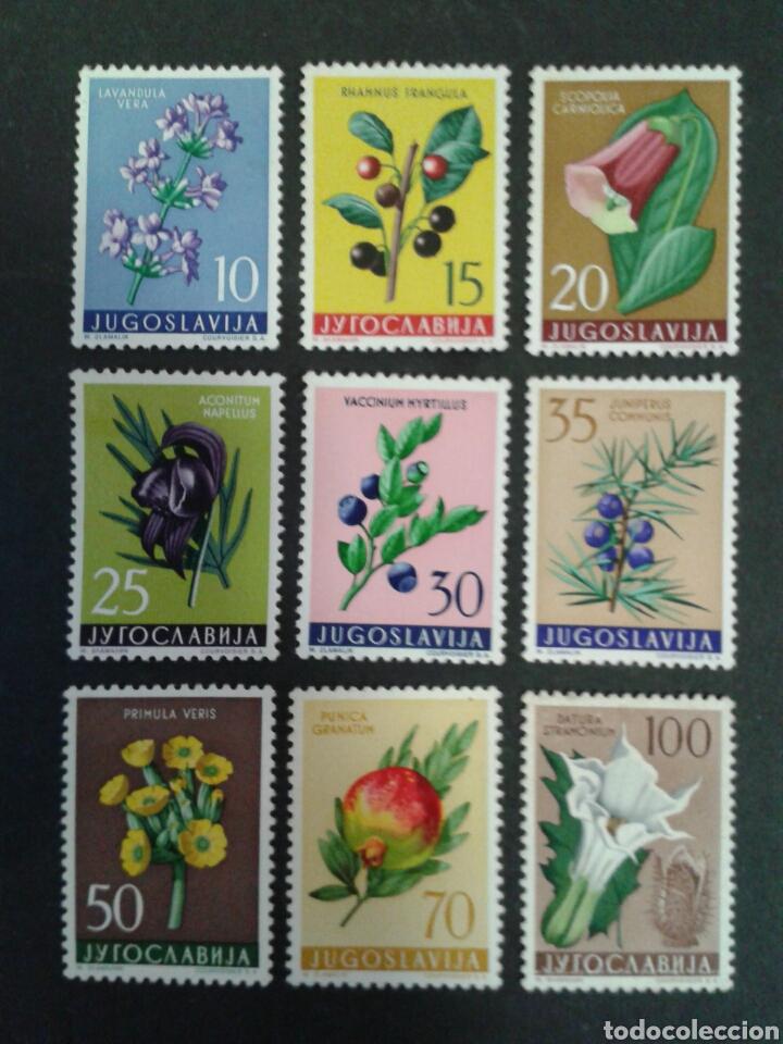 YUGOSLAVIA. YVERT 783/91. SERIE COMPLETA NUEVA SIN CHARNELA. FLORA. (Sellos - Extranjero - Europa - Yugoslavia)