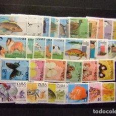 Sellos: CUBA 1993 - 1994 LOTE FAUNA FAUNE PÁJAROS PECES MARIPOSAS PERROS -SELLOS ** MNH VER FOTOS. Lote 106824003