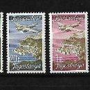 Sellos: YUGOSLAVIA. 1947 VISITA DE DUBROVNIK SERIE COMPLETA. Lote 117113479