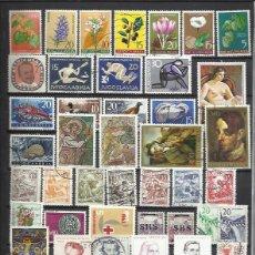 Sellos: G338-LOTE SELLOS JUGOSLAVIA SIN TASAR,BONITOS,INTERESANTES,ANTIGUOS Y MODERNOS. YUGOSLAVIA. Lote 119217347