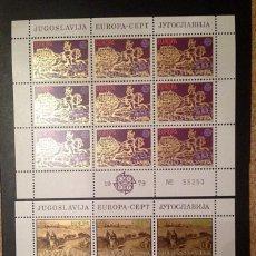 Sellos: YUGOSLAVIA.AÑO 1979.EUROPA.MINIPLIEGOS.. Lote 129600667