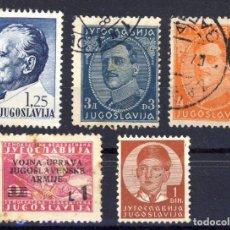 Sellos: YUGOSLAVIA.- LOTE 1.-. Lote 139390090