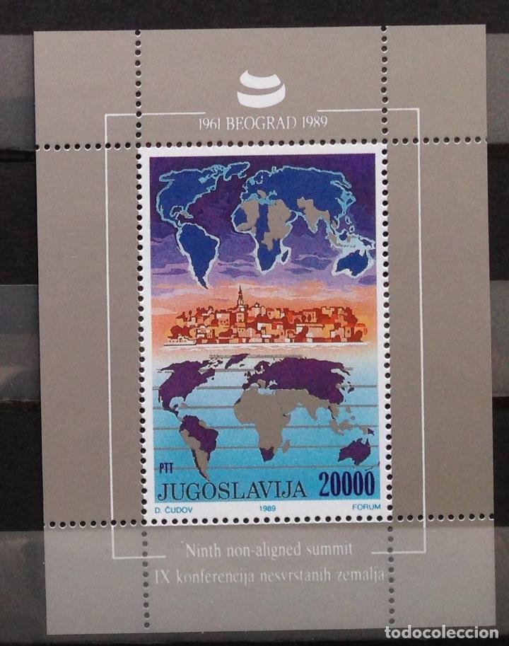 YUGOSLAVIA JUGOSLAWIEN YOUGOSLAVIE JUGOSLAVIA JUGOSLAVIJA 1989 (Sellos - Extranjero - Europa - Yugoslavia)