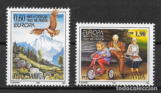 YUGOSLAVIA 1995 YVERT YT 2572/2573 MICHEL MI 2712/2713 MNH** NUEVOS SERIE COMPLETA - EUROPA C.E.P.T. (Sellos - Extranjero - Europa - Yugoslavia)