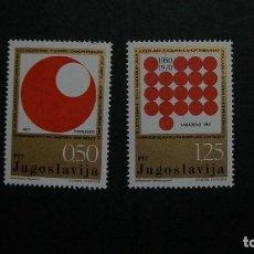 Sellos: YUGOSLAVIA-1971-Y&T 1303/4**(MNH). Lote 153391410