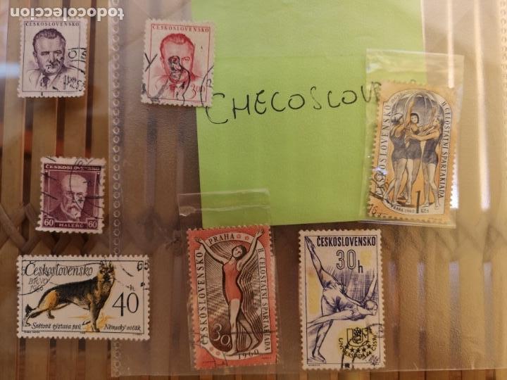 Sellos: LOTE DE SELLOS ANTIGUOS CHECO ,NO SE DESCOMPLETA EL LOTE - Foto 2 - 158671602