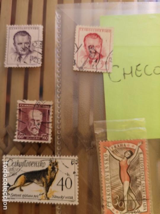 Sellos: LOTE DE SELLOS ANTIGUOS CHECO ,NO SE DESCOMPLETA EL LOTE - Foto 3 - 158671602