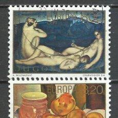 Sellos: YUGOSLAVIA - 1975 - MICHEL 1598/1599 - USADO. Lote 158912678