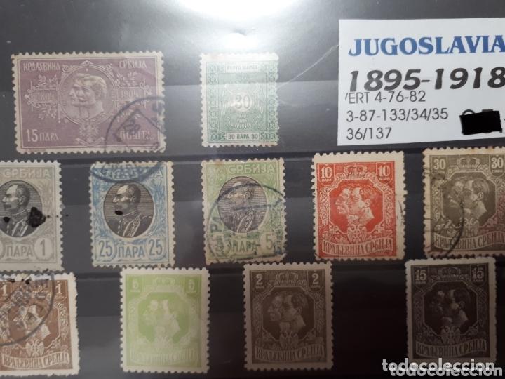 SELLOS DE JUGOSLAVIA 1895-1918 LOT.N.1049 (Sellos - Extranjero - Europa - Yugoslavia)
