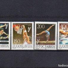 Sellos: YUGOSLAVIA 1987, YVERT 2111-14, MNH-SC. Lote 39132239