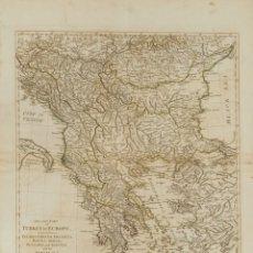 Sellos: YUGOSLAVIA, BIBLIOGRAFÍA. 1786. SECOND PART OF TURKEY IN EUROPE. SAMUEL DUNN. LONDRES, 1786 (INCLUY. Lote 183142570
