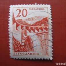 Sellos: YUGOSLAVIA 1959, YVERT 795. Lote 191592625