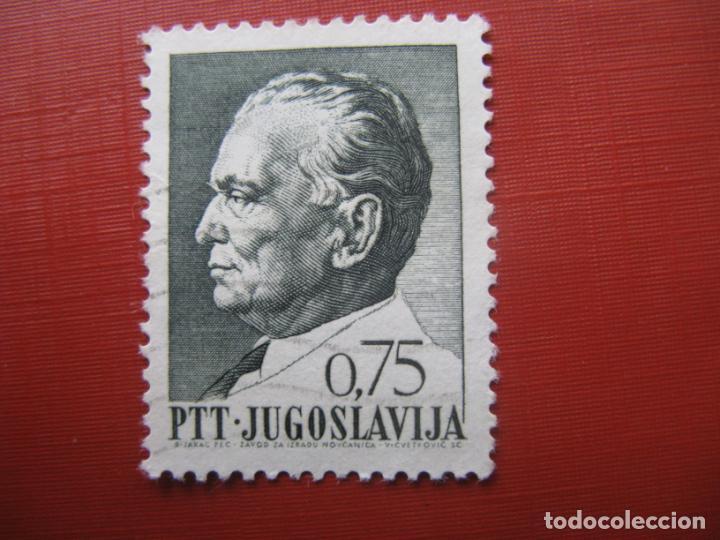 YUGOSLAVIA 1968, MARISCAL TITO, YVERT 1156 (Sellos - Extranjero - Europa - Yugoslavia)
