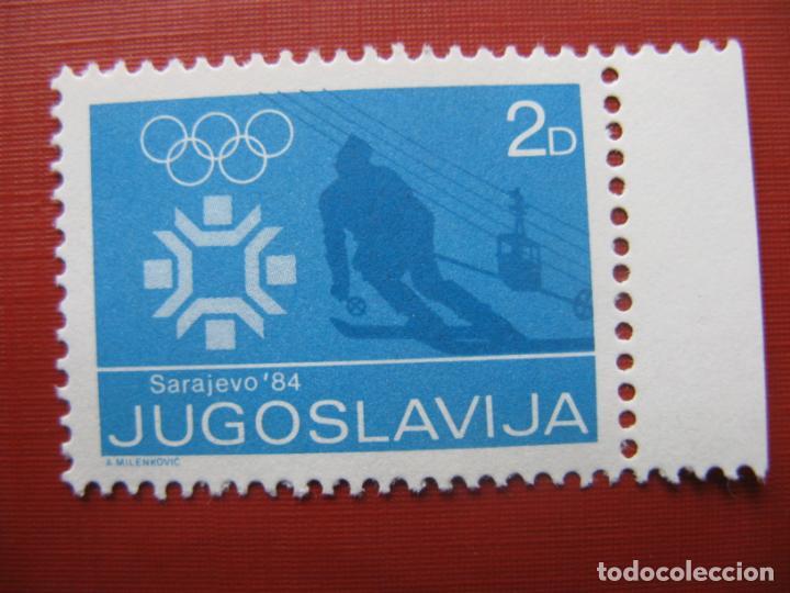 YUGOSLAVIA 1984, JUEGOS OLIMPICOS DE SARAJEVO (Sellos - Extranjero - Europa - Yugoslavia)