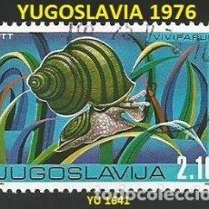 Sellos: YUGOSLAVIA 1976 - YU 1641 - 1 SELLO USADO - TEMA FAUNA. Lote 194092167