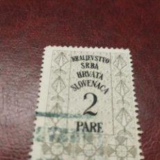 Sellos: YUGOSLAVIA REINO.. Lote 194345053