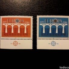 Sellos: YUGOSLAVIA. YVERT 1925/6 SERIE COMPLETA NUEVA ***. EUROPA CEPT. PUENTES.. Lote 194958375