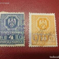 Sellos: YUGOSLAVIA FISCAL 1940.. Lote 195422183