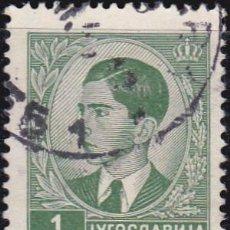 Timbres: 1939 - 1940 - YUGOSLAVIA - REINO - REY PEDRO II - YVERT 359. Lote 201980541