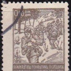 Sellos: 1945 - YUGOSLAVIA - PARTISANOS - YVERT 422. Lote 201981132