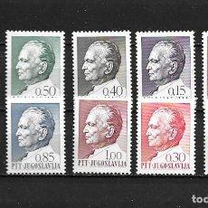Sellos: YUGOSLAVIA,1967,TITO,YVERT 1100-1109,NUEVOS,MNH**. Lote 202657996