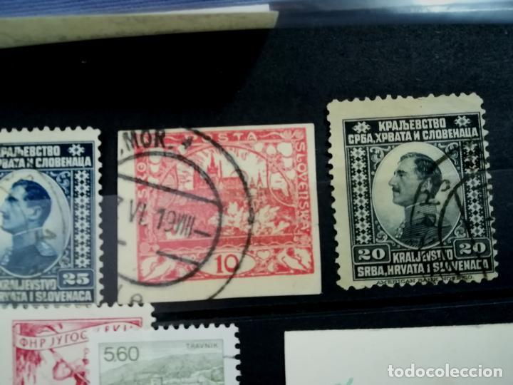 Sellos: LOTE ANTIGUOS SELLOS USADOS Yugoslavia, Eslovenia - Foto 3 - 205392767