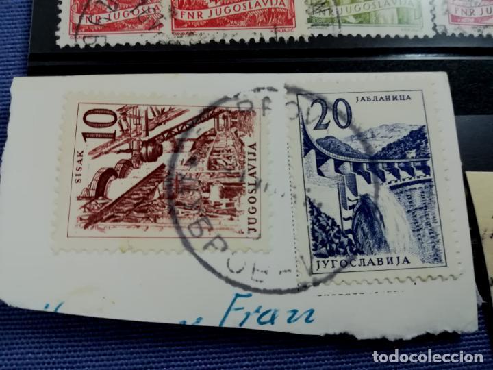 Sellos: LOTE ANTIGUOS SELLOS USADOS Yugoslavia, Eslovenia - Foto 4 - 205392767