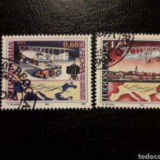 Sellos: YUGOSLAVIA YVERT 2517/8 SERIE COMPLETA USADA. EUROPA 1994. AVIONES. AVIACIÓN. Lote 211443484