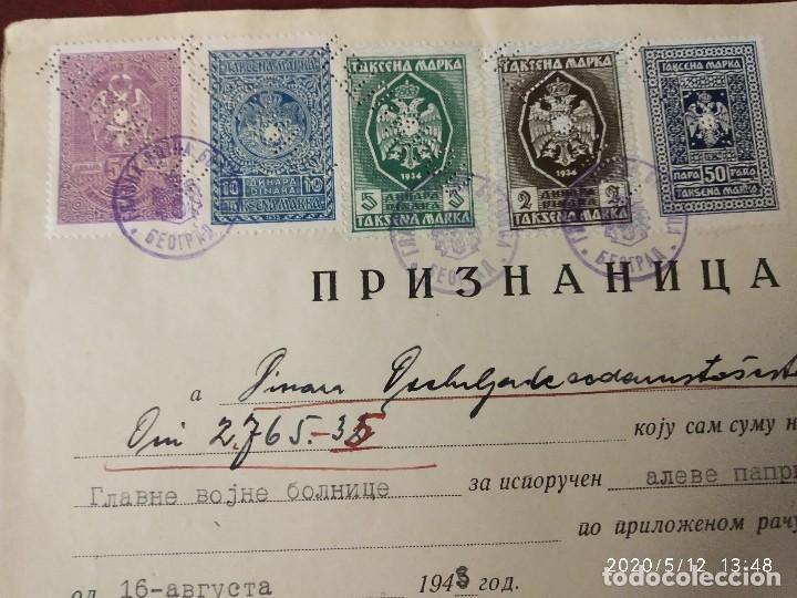 YUGOSLAVIA 1943 SEGUNDA GUERRA MUNDIAL WWII OCUPACION ALEMANA. (Sellos - Extranjero - Europa - Yugoslavia)