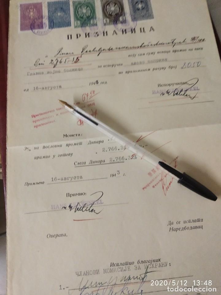 Sellos: YUGOSLAVIA 1943 SEGUNDA GUERRA MUNDIAL WWII OCUPACION ALEMANA. - Foto 2 - 211510969