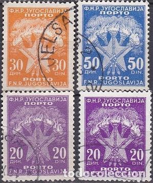 LOTE DE SELLOS - YUGOSLAVIA - (AHORRA EN PORTES, COMPRA MAS) (Sellos - Extranjero - Europa - Yugoslavia)