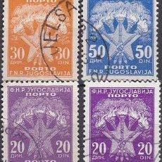 Sellos: LOTE DE SELLOS - YUGOSLAVIA - (AHORRA EN PORTES, COMPRA MAS). Lote 221506646